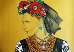 Закарпатська художниця подарувала красу черкащанам