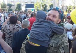 Черкаські бійці повернулися з війни