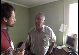 Микола Котко, сільський голоа, напав на журналіста Антени