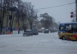 Місто поглинув сніговий колапс