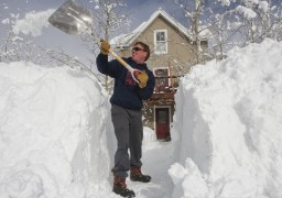 Черкасами пронісся сніговий буревій