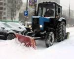Черкаські вулиці продовжують прибирати від снігу