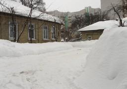 Черкаси опинилися у сніговому полоні