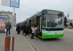 У Черкасах продовжили час руху тролейбусів до дев'ятої вечора