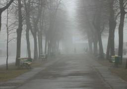 Черкаси накрив густий туман