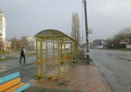 На вул. Максима Залізняка зникла нова зупинка