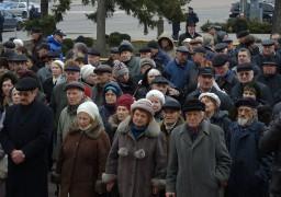 Будівлю ОДА пікетують пенсіонери