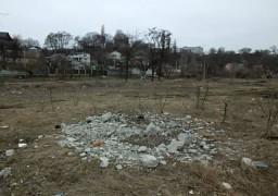 Гори сміття у мальовничій місцині Черкас