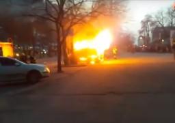 У центрі Черкас вибухнула кавова машина