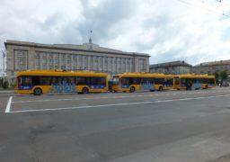 «Азотівські» тролейбуси вийдуть на лінії до 9 травня