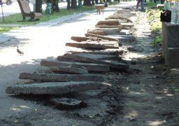 У Черкасах активізується ремонт тротуарів