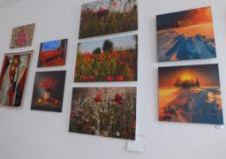 Художня виставка у «червоному»