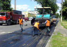 Черкаські дороги на активній стадії ремонту