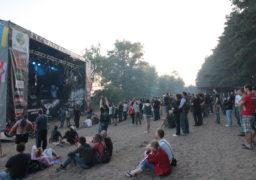 Міжнародний фестиваль Тарасова гора 2016. Головна сцена на березі Дніпра