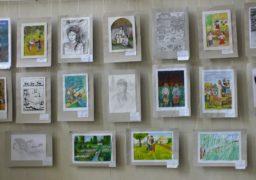 Дитяча виставка робіт для оформлення книг