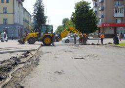 «Спекотний» ремонт дороги