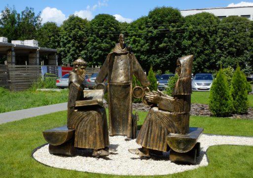 На бул. Шевченка з᾽явилися монахи