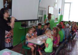 Черкаський «батьківщинівець» навідав дітей у зоні АТО