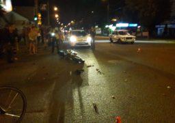 У середмісті Черкас в ДТП втрапив мотоцикліст та легковик