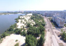 У мікрорайоні «Митниця» розгорнулося масштабне будівництво дороги по вулиці Героїв Дніпра