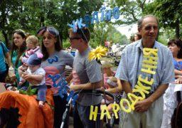 У Черкасах провели парад дитячих візочків