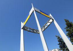 Декомунізація продовжується: На транспортному кільці демонтували радянську зірку