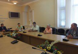 Обласна влада привітала Сергія Куліша з поверненням на Батьківщину