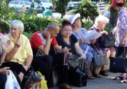 Черкаські пенсіонери провели акцію проти підвищення тарифів