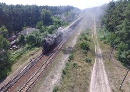 Сімдесятирічний паротяг курсує залізницями Черкащини