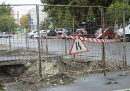 По вулиці Дашкевича тривають ремонтні роботи