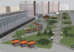 У міськраді показали проект  реконструкції скверу «Юність»