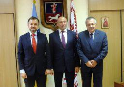 Мер прийняв послів з Болгарії та Молдови