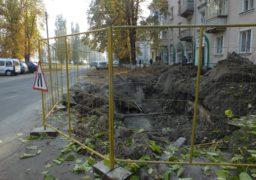 Незавершені роботи по вул. Гоголя несуть небезпеку для перехожих та водіїв
