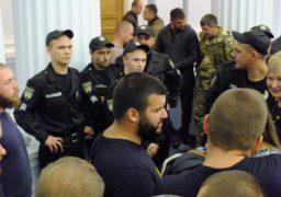 До депутатів облради викликали поліцію