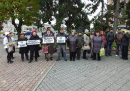 У Черкасах відбулася акція «STOP PUTIN. STOP WAR»
