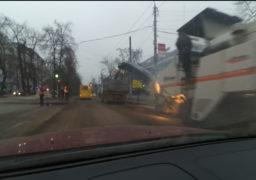 В черкаському середмісті ремонтують бульвар Шевченка