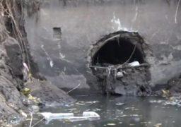 Жителі «Митниці» обурені варварським розчищенням зливової каналізації