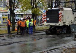 У Черкасах розпочалася  реконструкція бульв. Шевченка