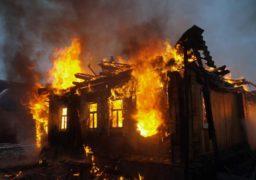 На вул. Гоголя виникла пожежа