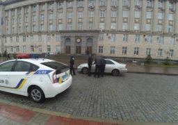 Патрульні оштрафували водія авто начальника поліції