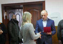 Відзнаки «Почесний громадянин м. Черкаси» вручили родичам загиблих атовців
