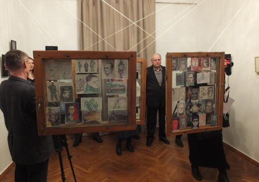 У Черкасах презентували армійські малюнки молодого художника
