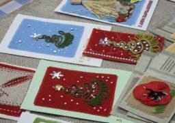 Черкаські майстри вчать виробляти листівки своїми руками
