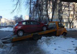 Аварія на розі вулиць Гоголя та Байди Вишневецького