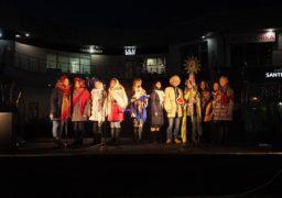Черкасців співами привітали з різдвяними святами