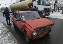 На перехресті вулиць Надпільної – Чорновола трапилось ДТП