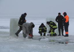 Черкаські рятівники ДСНС підготували ополонки для хрещенських купань місьян
