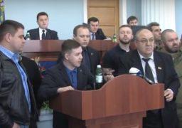 Депутати Черкаської облради не змогли скласти звернення щодо окремих районів Донецької та Луганської областей