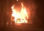 Скандальна забудова на Можайського, де представники Нацкорпусу демонтували незаконний паркан, що огороджував сосновоий ліс, згоріла.  Версія поліції – підпал. Активісти наголошують, що це провокація з метою дискредитації молодої політичної сили та спроба власника приховати злочин