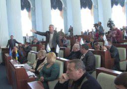 У Черкаській облраді зірвали сесію через звернення щодо Донбасу